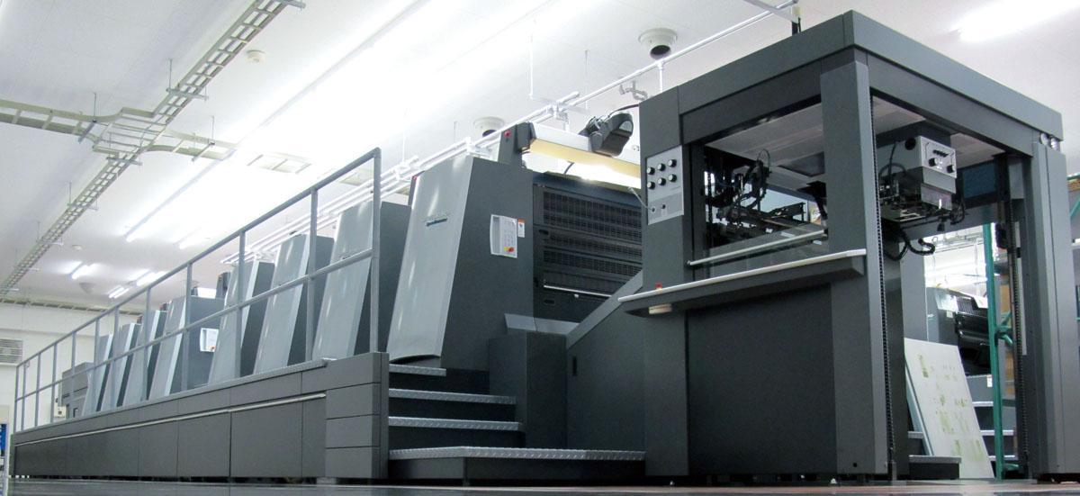 画像:大型印刷機