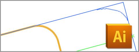Illustratorで図形のバウンディングボックスのハンドルを利用して(もしくは拡大・縮小ツールを利用して)オブジェクトを拡大・縮小する際に注意しなければならない