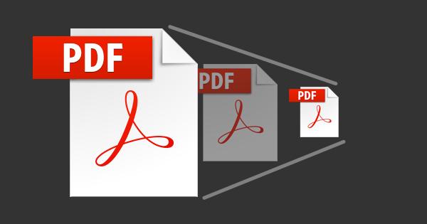 pdf ファイル を 圧縮 する