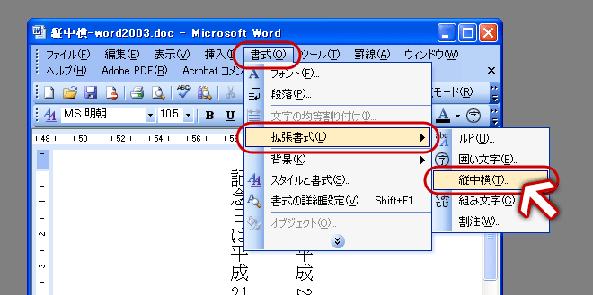 http://blog.ddc.co.jp/img/office/tatechuyoko-word/images/tatechuyoko-word2003-03.png