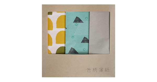 色柄薄紙 シルバーパッケージ / 600×440mm