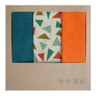 色柄薄紙 オレンジパッケージ / 600×440mm