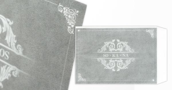 グラシン封筒印刷