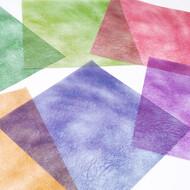 カラーグラシン 和風しぼり / 150×150mm