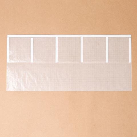 グラシン紙で薬の分包紙風ラッピング-02