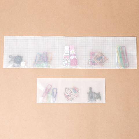 グラシン紙で薬の分包紙風ラッピング-06