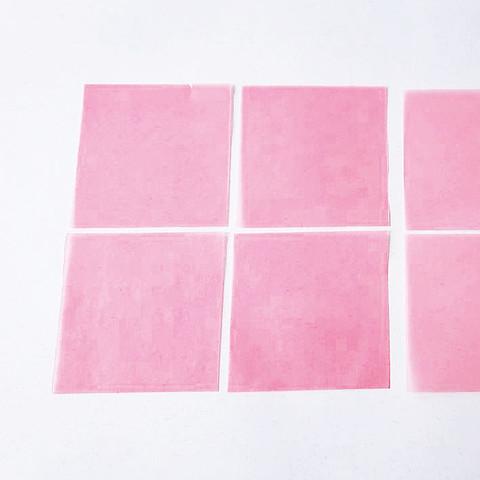 グラシン紙で手作り薔薇のコサージュ-01