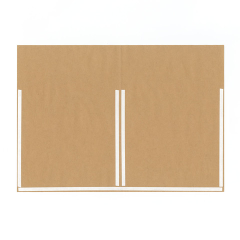 グラシン紙とクラフト紙でチラ見せ封筒ラッピング-02