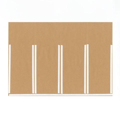 グラシン紙とクラフト紙でチラ見せ封筒ラッピング-05