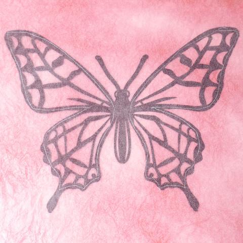 グラシン紙で色づけるカラー切り絵-03