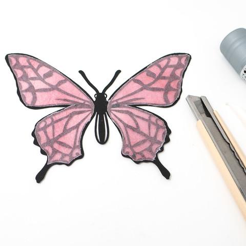 グラシン紙で色づけるカラー切り絵-05