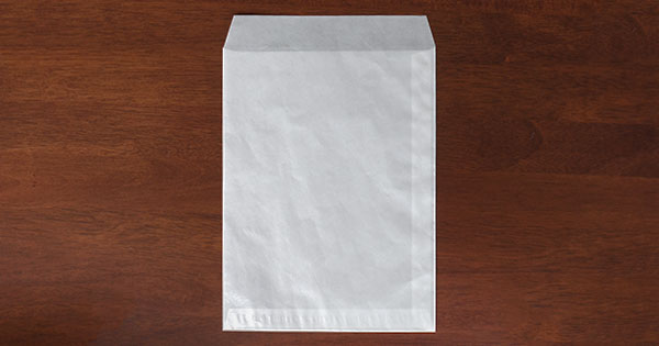 グラシン封筒 角形 白 / A5変形 160×220mm