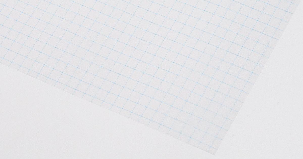 グラシンペーパー 方眼柄 / 297×210mm