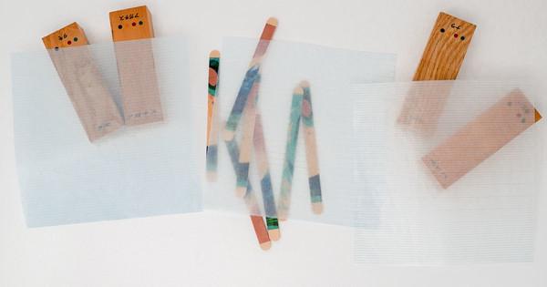 新商品「グラシン標本用品 目盛り紙」販売