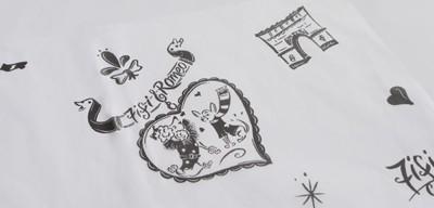 Fifi & Romeo / 包装紙 / PUPPILYHILLS TOKYO様