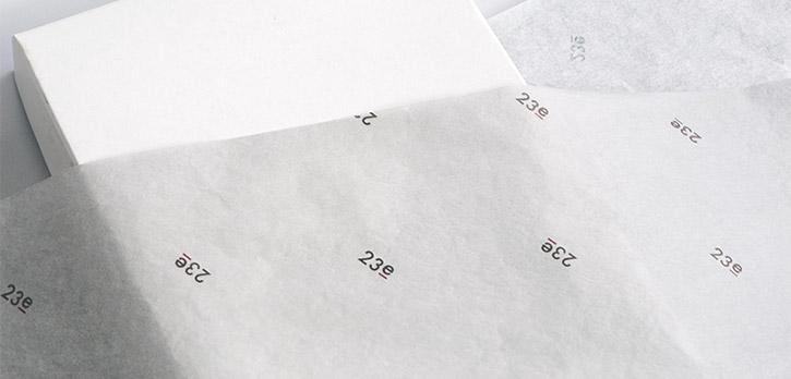 23区 / 包装紙 / オンワード樫山様