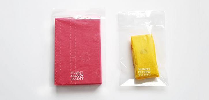SUNNY CLOUDY RAINY / 包装紙 / SUNNY CLOUDY RAINY 様