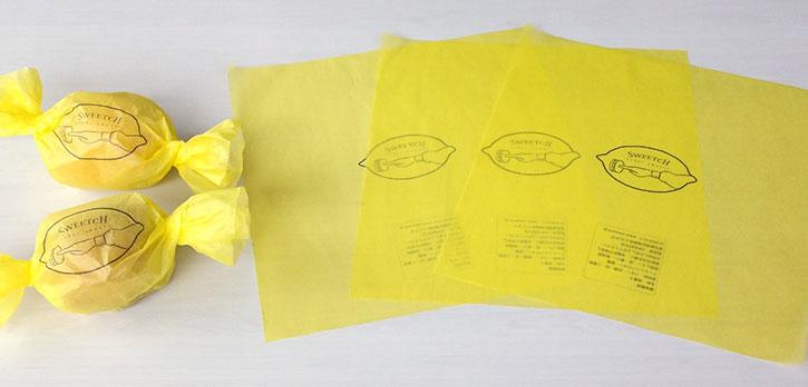 レモンケーキ / 包装紙 / SWEETCH様