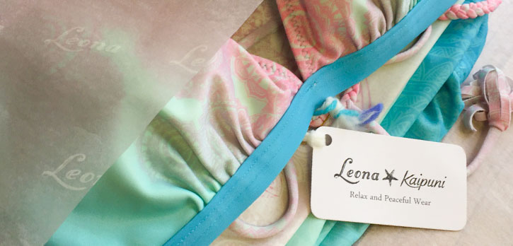 Leona / 包装紙 / Prism inc.様