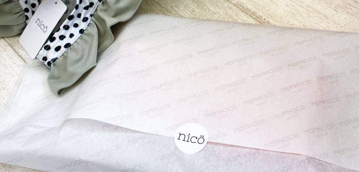 nicö / 包装紙 / 株式会社nico様
