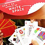 デザイン戦略やタイポグラフィの歴史などがゲームしつつ理解できるトランプ「The Design Deck」レビュー(Gigazine)