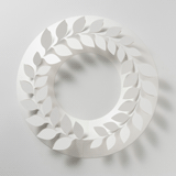 paper wreath(伊藤千織デザイン事務所)