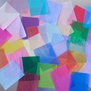 お好みのカラーグラシン紙を作ることができます