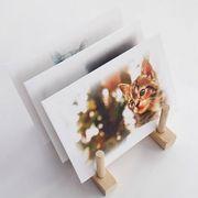 好きなデザインを印刷できるグラシン封筒のサンプルです