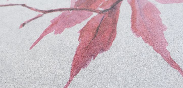 和紙へのカラー印刷が可能に / 和紙「みや美 No.018」(17.0g/㎡)