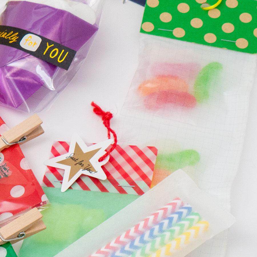 24色でお菓子がインスタ映え!グラシンペーパーでフォトスタイリング