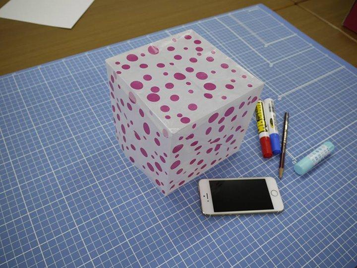 四角い形に挑戦