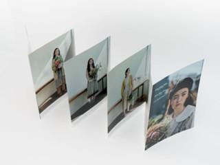 蛇腹折り7山のファッションブランドカタログ