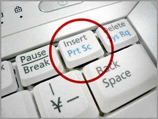 PrintScreenのキー(ノートパソコン編)(2)