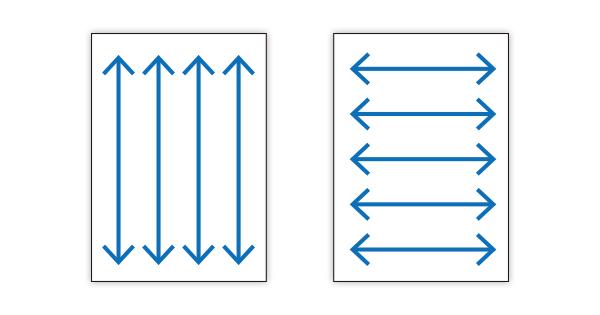 紙目・縦目/T目・横目/Y目