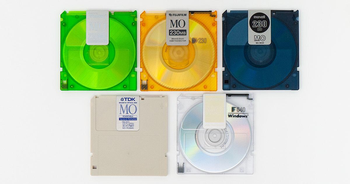 MO Disk(光磁気ディスク)